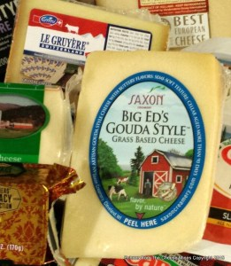 Le Gruyere AOP and Gouda used in this cheese sauce