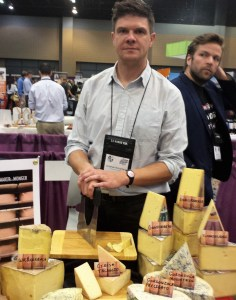 Jonathan Richardson, Columbia Cheese with Glenn Hills in the background...