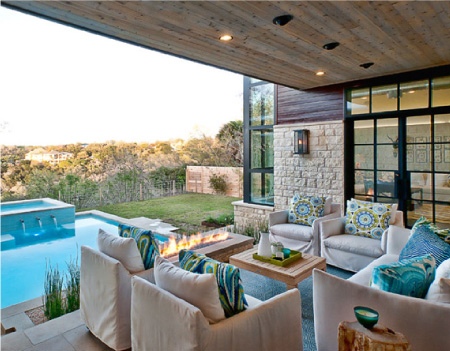 indoor and outdoor living spaces