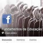 Fundamentos da Educação, agora um grupo aberto no Facebook