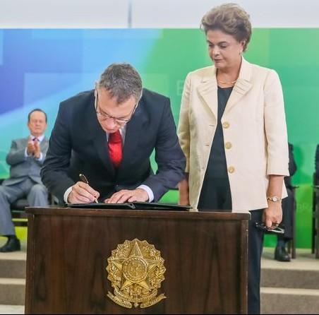 Janot teria recomendado à vice-procuradora-geral, Ella a não comparecer à posse de Aragão como ministro da Justiça. Foto Palácio do Planalto