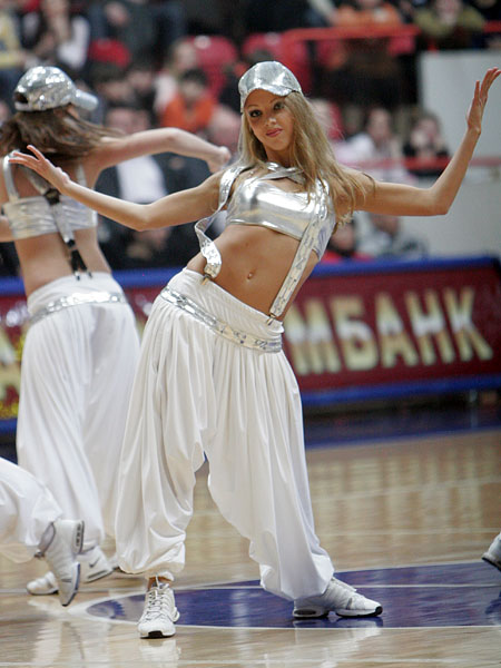 Porristas Rusas Hermosas Sexy 39