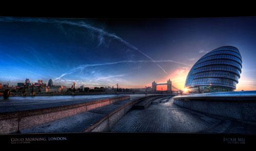 Good Morning, London urban photography