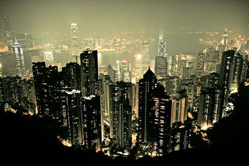 The Peak Hong Kong urban photography