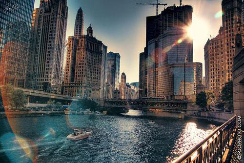 Staring At The Sun urban photography