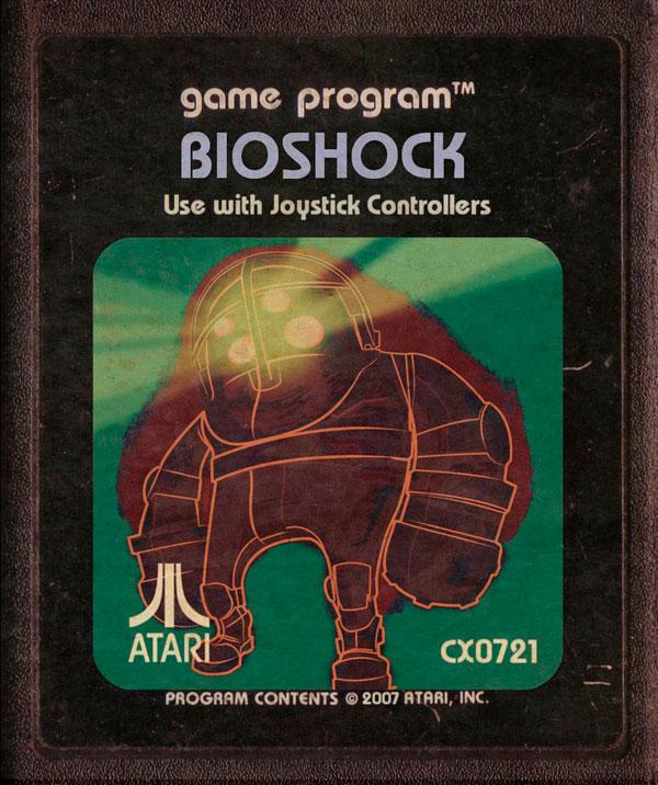 Videojuegos modernos como cartuchos de Atari - Bioshock