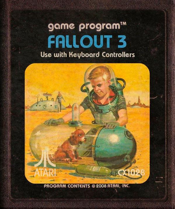 Videojuegos modernos como cartuchos de Atari - Fallout 3