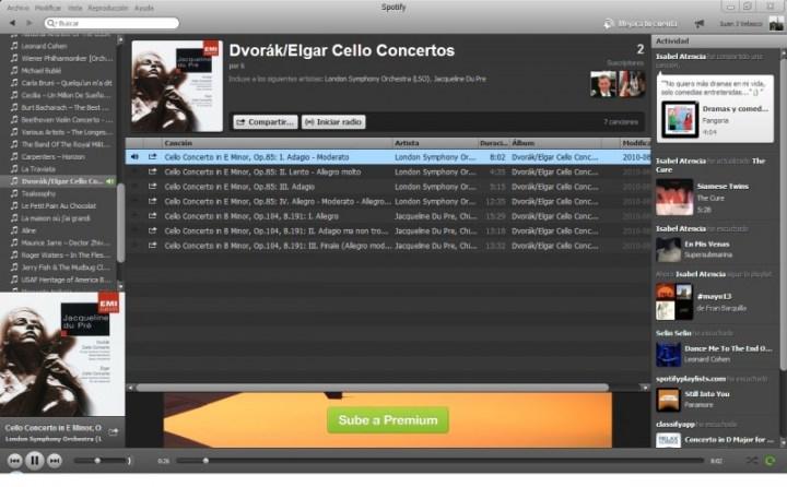 Sacale jugo a Spotify