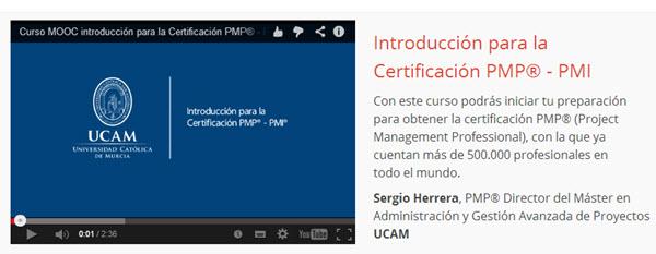 Introducción para la Certificación PMP – PMI