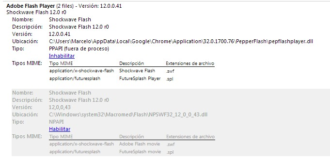 flash player google chrome