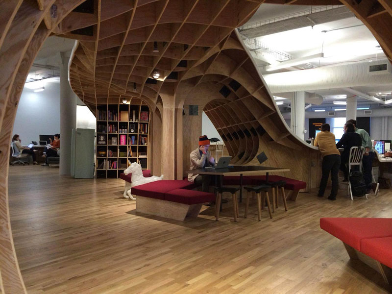 barbarian group nyc superdesk one giant office desk by clive wilkinson architects machineous (8)