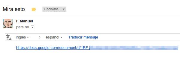Enlace Google Docs