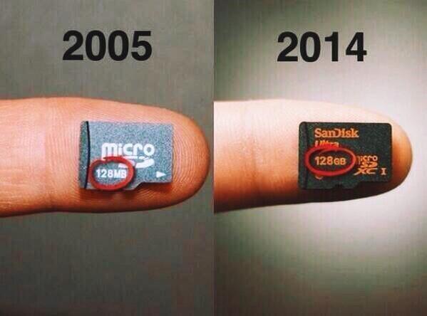 Nueve años de (r)evolución tecnológica resumidos en una imagen