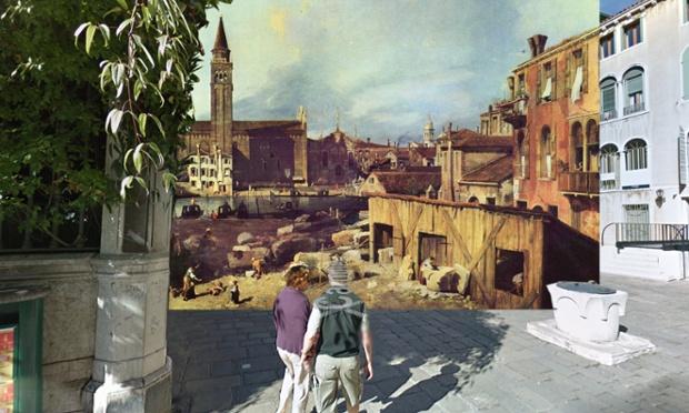Venice - Canaletto - The Stonemason's Yard - 1726-30