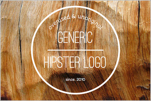 Generic Hipster Logo