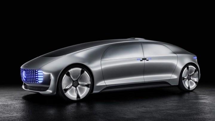 mercedes benz present u00f3 su futurista coche aut u00f3nomo