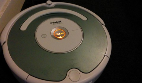 Charging Roomba 2