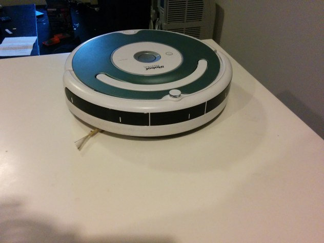 Not the Roomba I messed with.