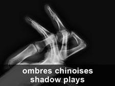 Jeux de mains... (ombres chinoises)