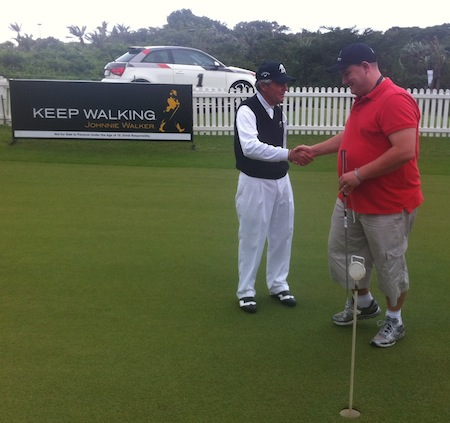 A weekend with Johnnie Walker at the Gary Player Invitational