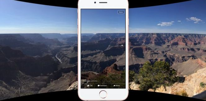 How to get a 360 degree Panoramic Photo to show in Facebook