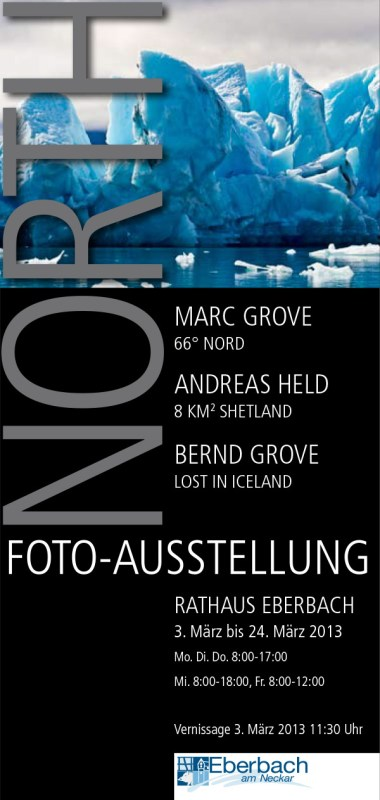 Island »North« Fotoausstellung in Eberbach