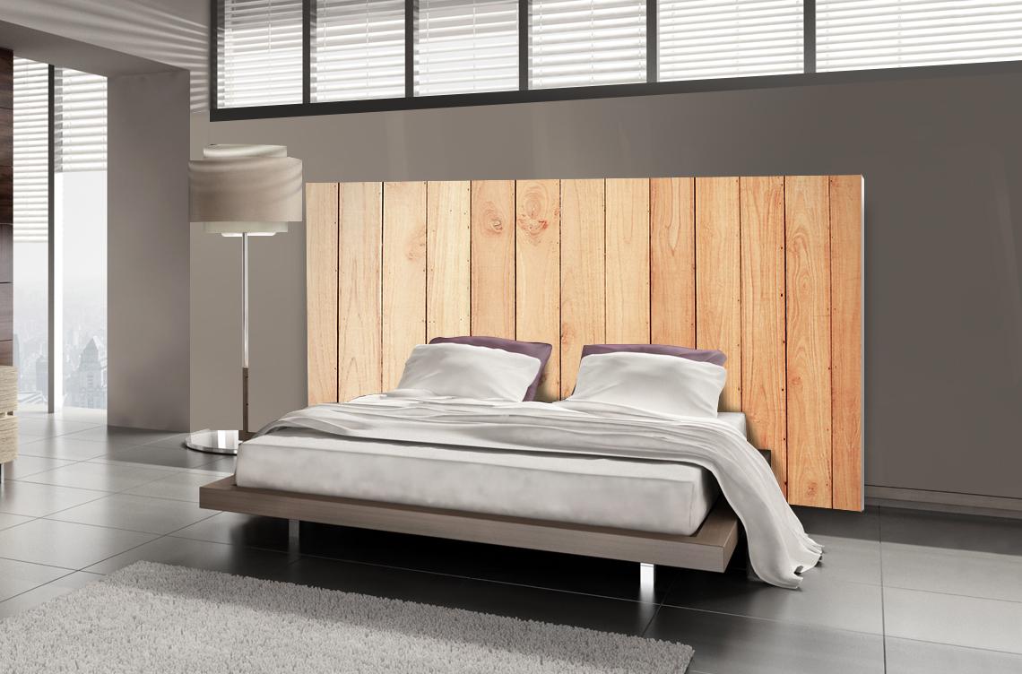 tete de lit bois textilvision
