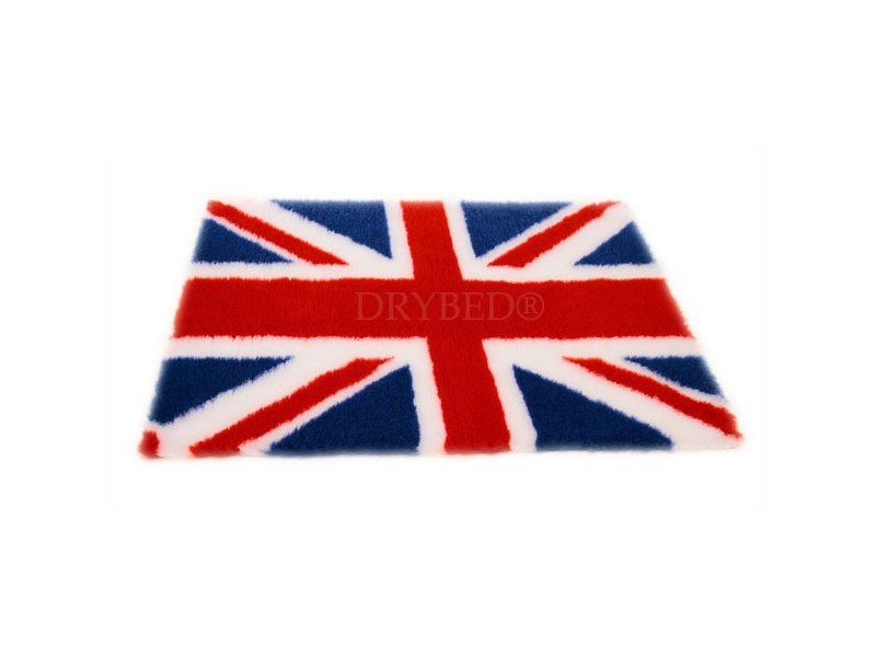 tapis chien drybed antiderapant drapeau anglais