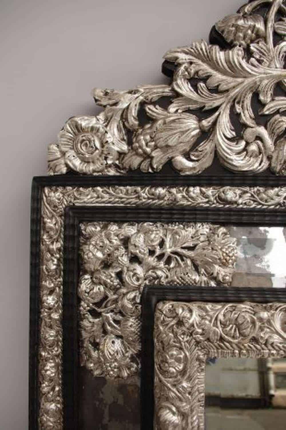 Le March Biron Grand Miroir Pareclose De Style Louis