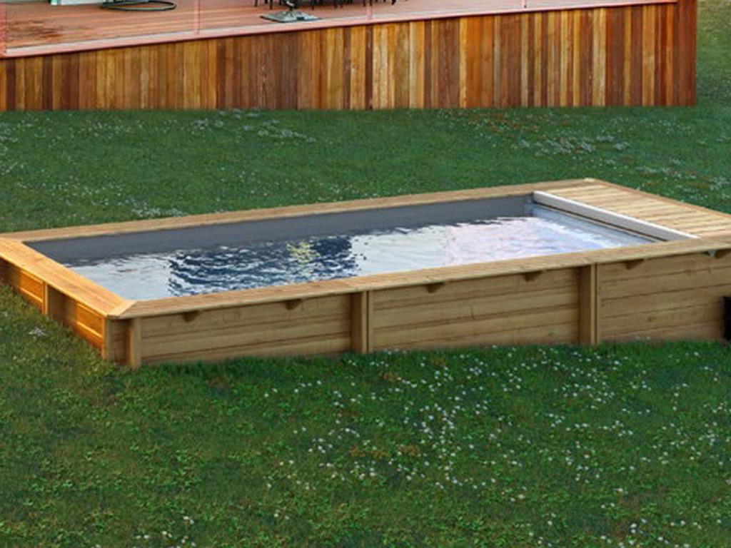 piscine bois hors sol bwt mypool urbaine luxe 6 00x2 50m avec pompe a chaleur