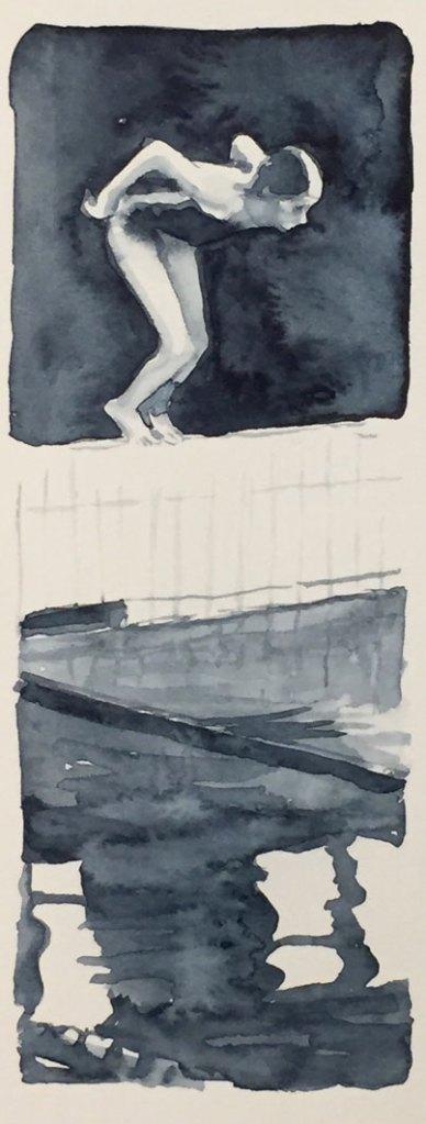 Gioia Marchegiani - Grigio di Payne - Acquerello