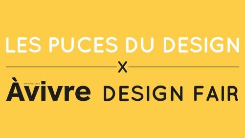 Puces du Design Marché de la Mode Vintage bannière