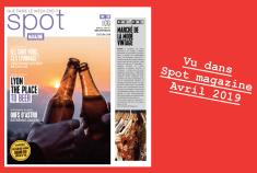 Revue de presse Spot magazine Avril