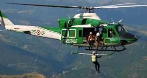 elicottero forestale