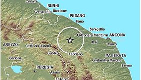 terremoto metauro ingv