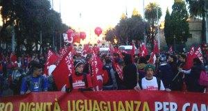 cgil manifestazione roma