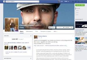 Checco Zalone Facebook