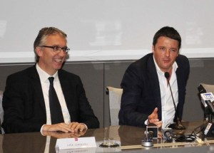 Renzi in visita a Pesaro
