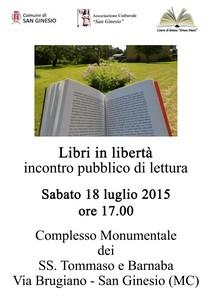 locandina Libri in libertà