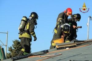 Incendio in Località Crocette