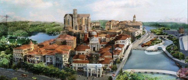 Hn Italian Town