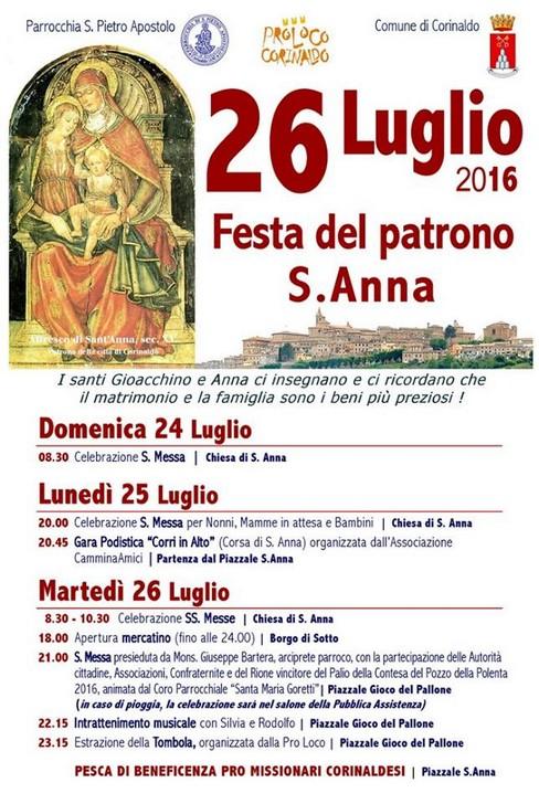 Festa Sant'Anna a Corinaldo