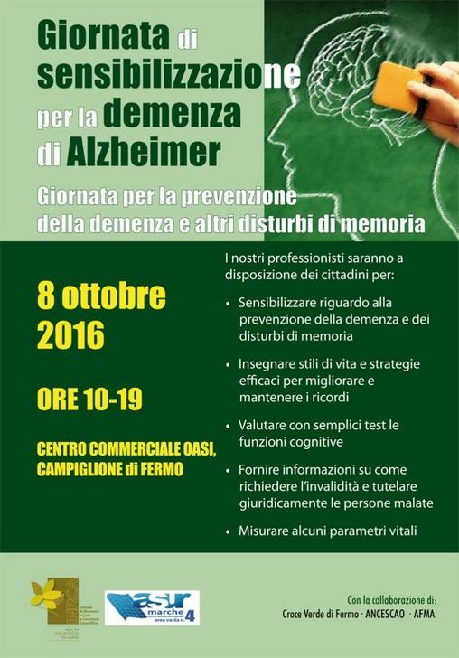 Giornata informativa sull'Alzheimer