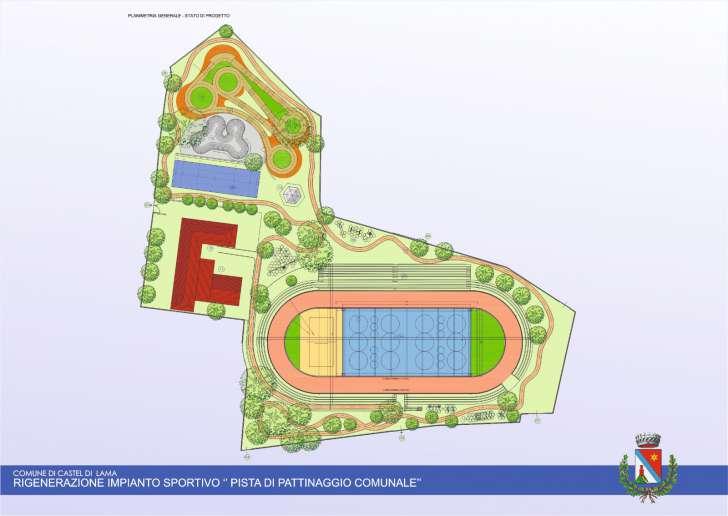Ufficio Per Lo Sport.Castel Di Lama Pista Pattinaggio 500 Mila Euro Di Fondi