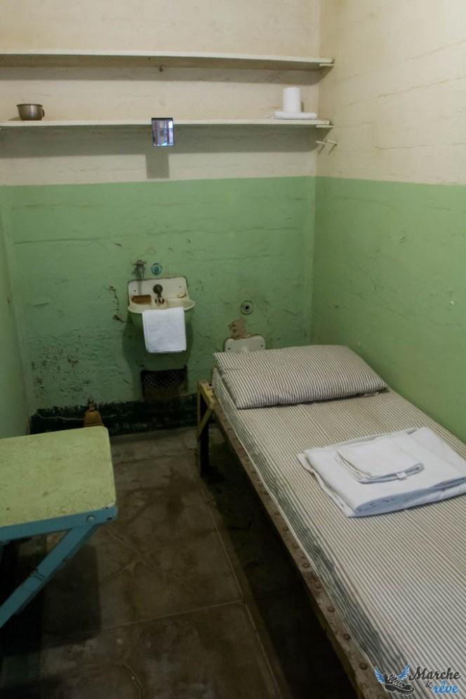 Intérieur d'une cellule d'Alcatraz