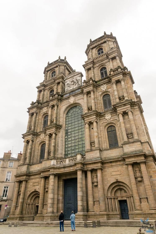 Cathédrale Saint Pierre à Rennes