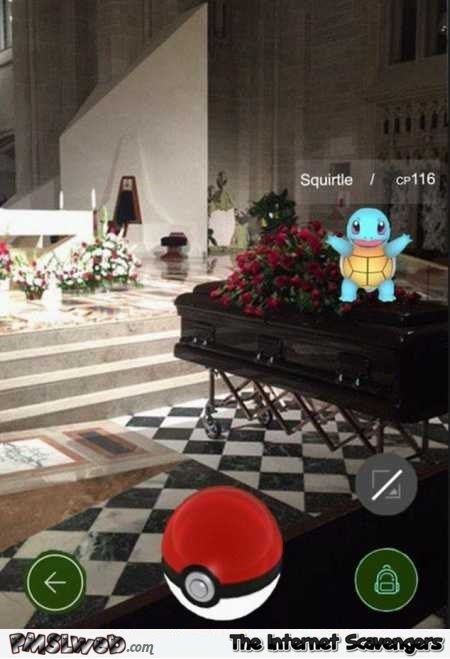 21-playing-Pokemon-Go-at-a-funeral-funny-fail