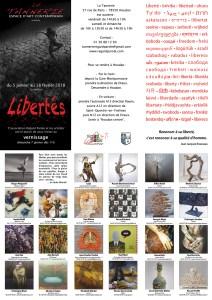Libertés janvier 2018