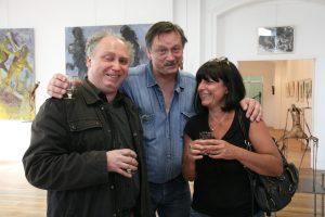 Philippe, Gregor et moi