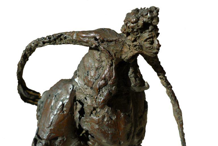 Femme en marche - Détail - H. 48 cm